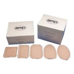 Austin Medical From: N4 To: NE - Ampatch Style N-4 With Round Center Hole NE 1
