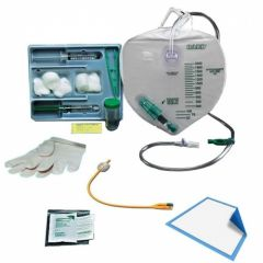Rochester - Bardex I.C. - 320416A - Complete Care, Foley Tray with Drainage Bag, 16 Fr