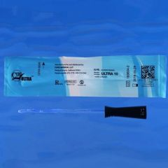 Cure - From: ULTRA8 To: ULTRA16 - Cure Ultra Pre-Lubricated Straight Tip Catheter for Women