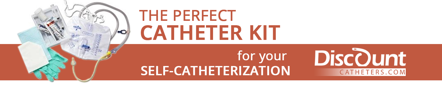 The perfect Catheter Kit for your self-catheterization
